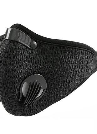 Защитная многоразовая маска с угольным фильтром