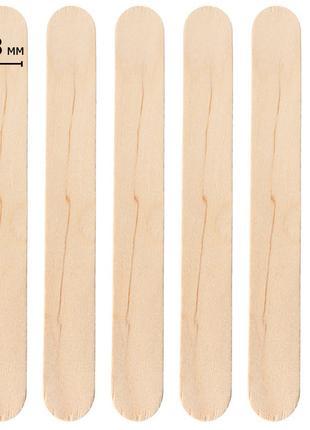 Шпатели деревянные одноразовые (100шт)