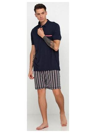 Летний комплект мужская пижама домашний костюм, livergy герман...