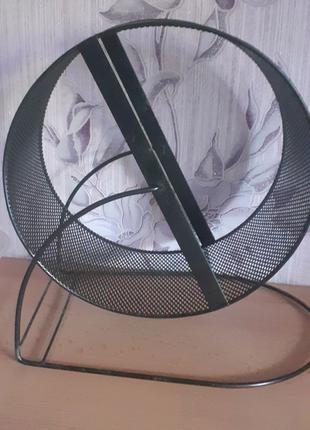 Металлическое колесо для хомяков и шиншилл недорого.