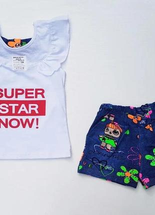 "Костюм для девочки ""super star"""