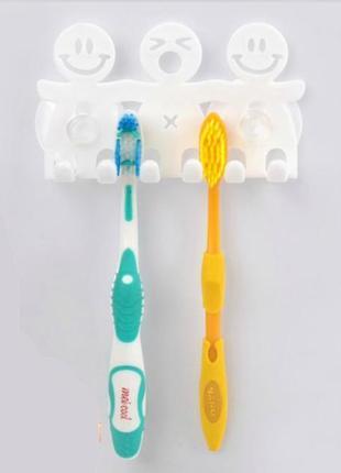 Держатель для зубных щеток на присосках