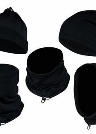 Бафф, флисовая шапка, шарф, маска универсальная