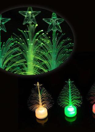 Волоконно-Оптическая Новогодняя Елка Mini LED Рождественская Р...