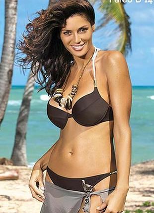 Sarah m-242 marko раздельный купальник коричневый