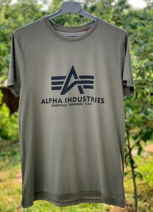 Alpha industries мужская футболка