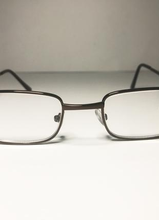 Очки с увеличительными линзами квадратные 3.5, очки мужские дл...