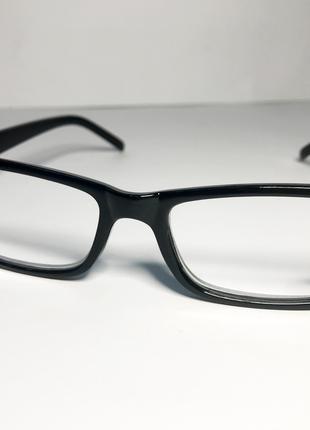 Классические мужские готовые очки для зрения +3.5 PD 62-64, Оч...