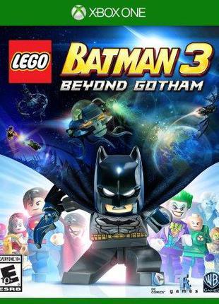 Lego Batman 3 Beyond Gotham (Xbox One, русские субтитры)