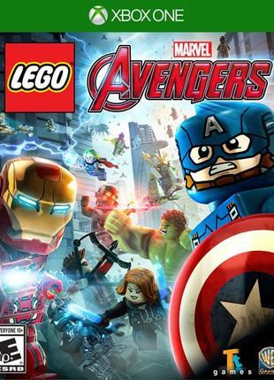 LEGO Marvel Avengers (Xbox One, русские субтитры)