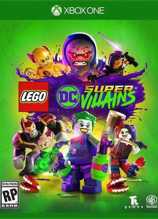 LEGO DC Super Villains (Xbox One, русские субтитры)