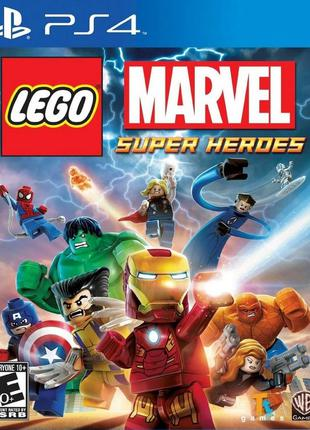 LEGO Marvel Super Heroes (PS4) Б/У