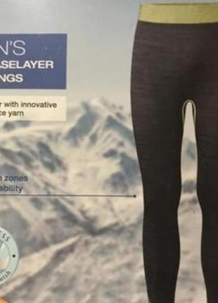 Термобелье лыжное зональное, поддева размер m, l, xl crivit sp...