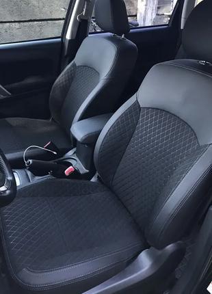 Модельные чехлы на сиденья Honda Civic 1995-2002 Fastback, Aer...