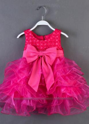 Шикарные праздничные очень пышные платья для девочек