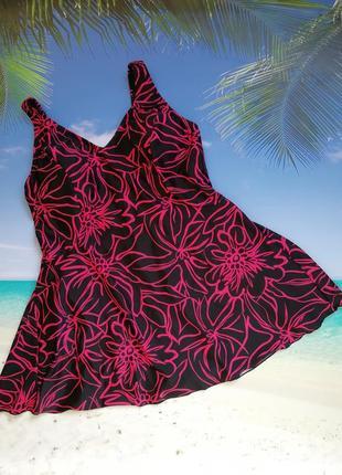 Купальник-платье, купальное платье утяжка