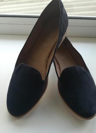 Замшевые туфли 5th avenue