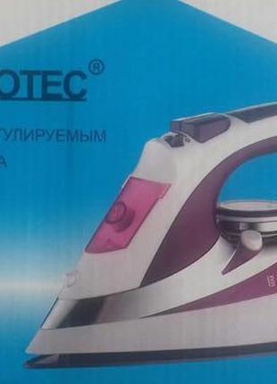 Утюг Domotec MS 2201 2200W керамическая подошва