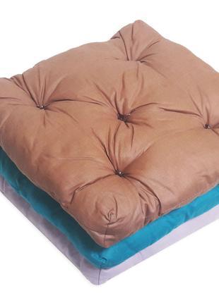 Подушка-Сидушка для стула 40*40*4(5)см СУПЕРЦЕНА