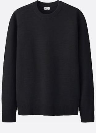 Пуловер трикотажный мужской стильный модный оригинал uniqlo ра...