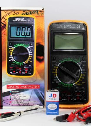 Мультиметр Тестер DT-9208 A