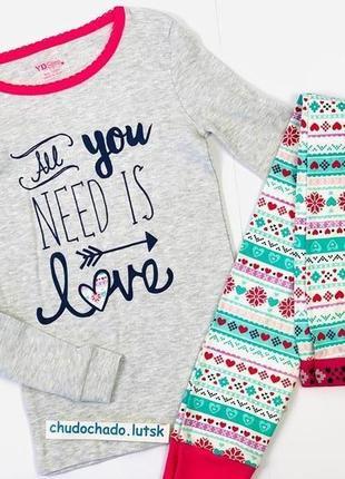 Пижамка примарк для девочек на манжетах