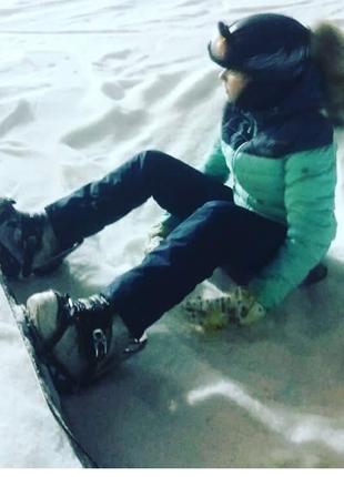 Женский подростковый (рост 160см) лыжный костюм  S