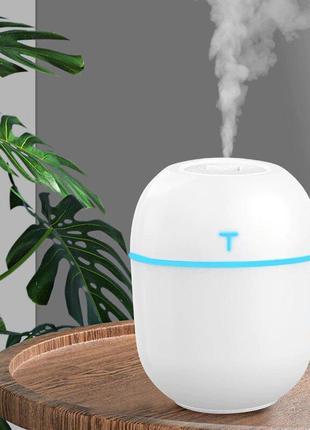 Ультразвуковой увлажнитель воздуха маленький 10х7х5 см