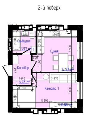 1-комн. квартира в спокойном и престижном районе! до Киева 3 км
