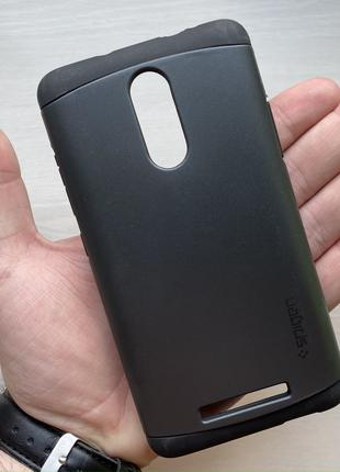 Чехол противоударный черный на для Xiaomi Note 3