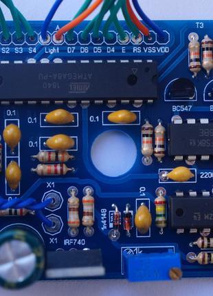 Металлоискатель  PI-AVR плата.