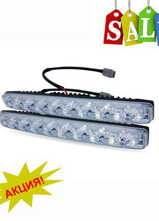 Светодиодные авто фары дневные ходовые огни ДХО LED DRL- 9W
