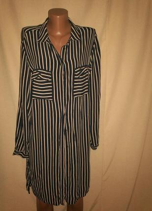 Вискозное  платье topshop р-р12,