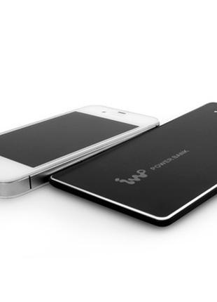 Power bank 4600 mah портативная зарядка для iphone samsung xiaomi