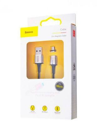 Baseus USB Micro кабель Zinc Magnetic Cable USB For Micro 2A (...