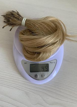 Волосся для нарощення натуральне слов'янка