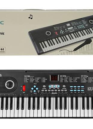 Детский синтезатор с микрофоном от сети BD-600
