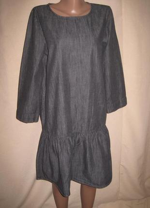 Джинсовое платье р-рs,