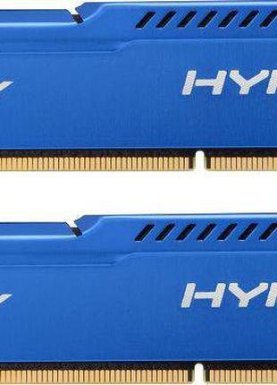 DDR3 2x4GB/1600 Kingston HyperX Fury Blue (HX316C10FK2/8)