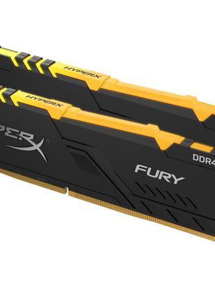 DDR4 2x8GB/3733 Kingston HyperX Fury RGB (HX437C19FB3AK2/16)