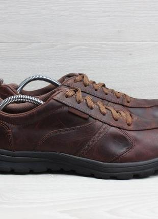 Кожаные мужские кроссовки skechers оригинал, размер 44 (memory...