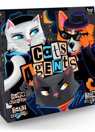 """Настольная Игра """"Cats Agents"""" Коты агенты"""