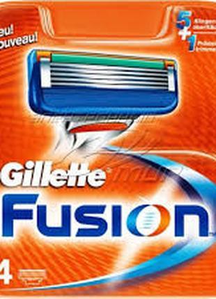 Лезвия Бритвы Кассеты для Станка Gillette Fusion-4