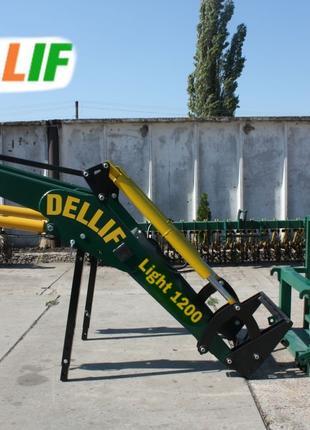 Погрузчик Dellif Light 1200 с паллетными вилами на МТЗ,ЮМЗ,Т 40
