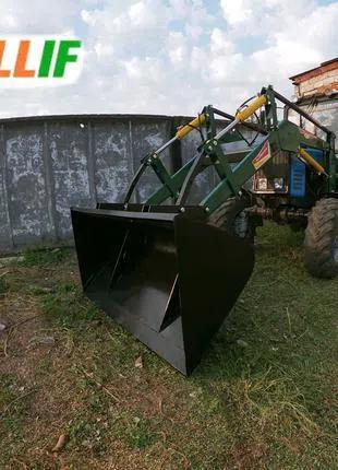 Погрузчик стационарный Dellif Light 1200 с ковшом 2 м на МТЗ,ЮМЗ