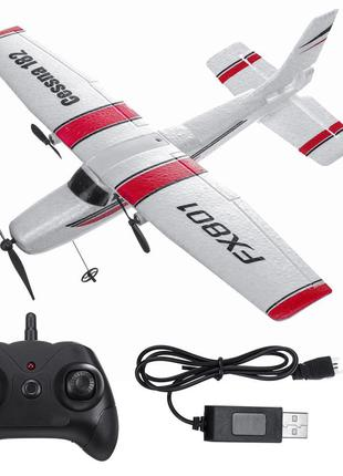 """Самолёт """"Cessna 182"""" (FX801) на пульте управлении из пеноматер..."""