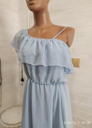 Платье воздушное,праздничное h&m