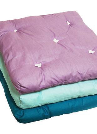 Подушка-сидушка для стула 40х40х4(5) СУПЕРЦЕНА