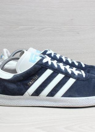 Мужские кроссовки adidas gazelle оригинал, размер 45 (синие, з...