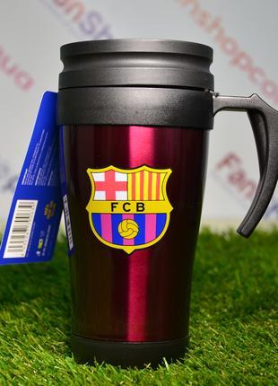 Термочашка с ручкой ФК Барселона (FC Barcelona)
